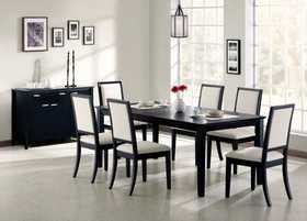 Coaster 101561/(4) 101562 Five Piece Dining Room Set