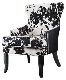 Coaster 902169 Cowhide Print Accent Chair