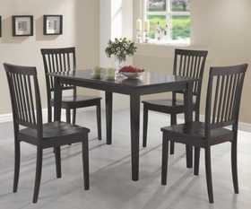 Coaster 150152 Oakdale 5 Piece Dining Set