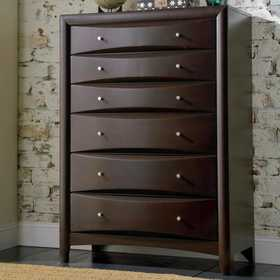 Coaster 200415 Phoenix Contemporary 6 Drawer Chest