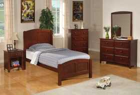 Coaster 400291T Parker Casual Twin Panel Bed