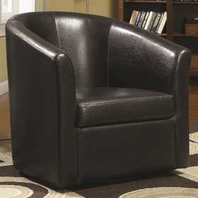 Coaster 902098 Contemporary Styled Accent Swivel Chair