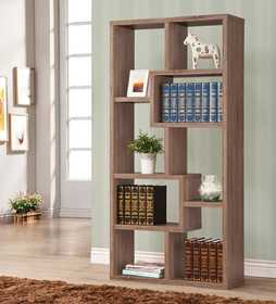 Coaster 800129 Bookshelf Distressed Grey