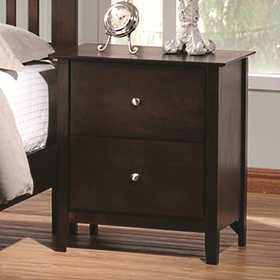 Coaster 202082 Nightstand Cappuccino