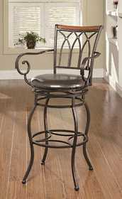 Coaster 102575 29 in Decorative Metal Barstool