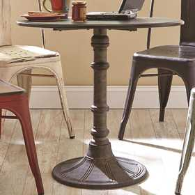 Coaster 100063 Oswego Round Industrial Bistro Table
