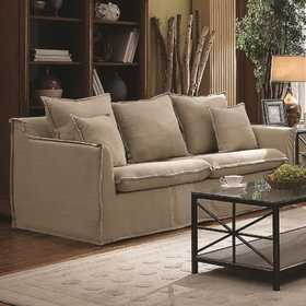Coaster 505801 Cooney Flange-Trimmed Casual Sofa