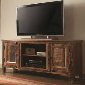 Coaster 700303 Reclaimed Wood Tv Stand
