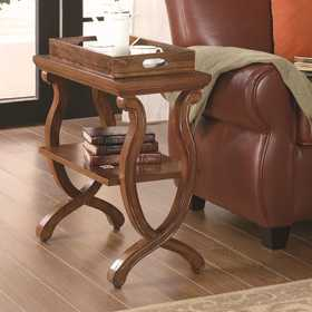Coaster 900974 Rectangular Chairside Table
