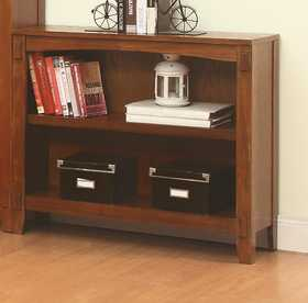 Coaster 801205 Maclay Short 2 Shelf Bookcase