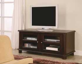 Coaster 700610 Tv Stands Transitional Media Console With Doors And Shelves