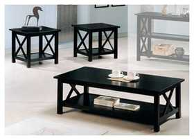 Coaster 5909 Briarcliff Casual 3 Piece Occasional Table Set