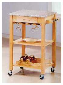 Coaster 7639 Kitchen Cart