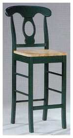 Coaster 100320G Stool 29 in Green
