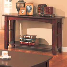Coaster 700009 Abernathy Cherry Sofa Table
