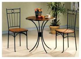 Coaster 5939 Dining Set 3pc Bistro