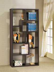 Coaster 800264 Contemporary Asymmetrical Cube Bookcase