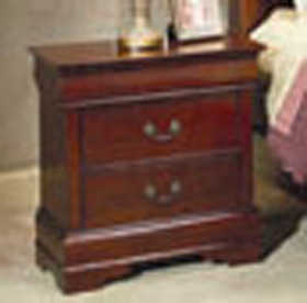 Coaster 200432 Louis Philippe 2 Drawer Night Stand