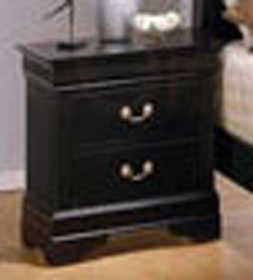 Coaster 201072 Louis Philippe 2 Drawer Night Stand