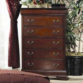 Coaster 200435 Louis Philippe 5 Drawer Chest