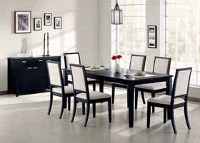 Coaster 101561 Dining Table/18 in Extension