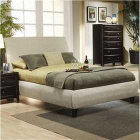Coaster 300369Q Phoenix Queen Contemporary Upholstered Bed