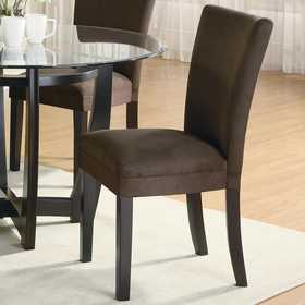 Coaster 101496 Bloomfield Microfiber Parson Side Chair