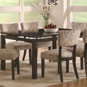 Coaster 103161 Libby Rectangular Dining Table With Floating Top