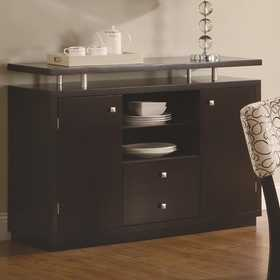 Coaster 103165 Libby 2 Door Dining Server Buffet With Floating Top