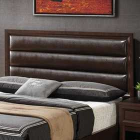 Coaster 202311Q Remington Queen Headboard W/Black Rest Pillows
