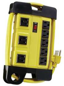 Woods 04655 8 Outlet Strip Workshop 6 ft Cord