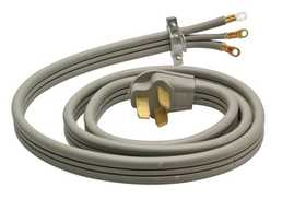 Coleman Cable 09016-88-09 Range Cord 3 Wire 6 ft Gray