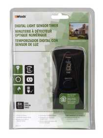 Woods 50013 Outdoor Light 24hr W/Photocell