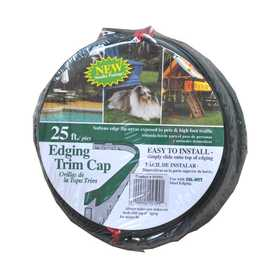 Collier Metal Spec Ltd 25VTC Vinyl Edging Trim Cap 25 ft Roll Green