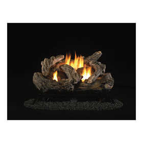 Procom PCD24TD ProCom Dual Fuel Vent-Free Gas Log Set — 32,000 Btu, Model# Pcd24td