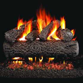 Procom WAN18LA Peterson Real Fyre 18 in Post Oak Gas Logs Only No Burner