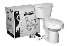 Crane Plumbing 3926-02 Toilet-To-Go Elite Ada Elongated White