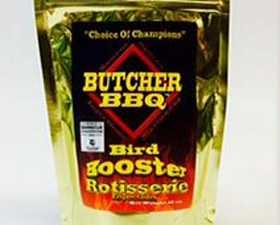 CRAWFORD SUPPLY CO INC 74781 Butcher Bbq Bird Booster Rotisseries Injection 12 oz