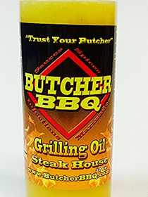 CRAWFORD SUPPLY CO INC 74787 Butcher Bbq Steakhouse Grilling Oil 12 oz