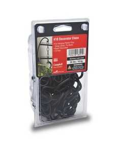 Apex Tool Group 5979610 #10 Decorator Chain, Black Polycoat, 10 ft Per Plastic Clamshell