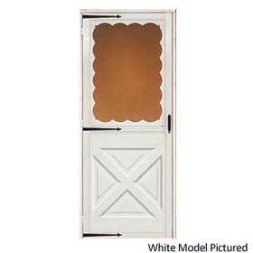 Croft 464-32X80 Storm Door Crossbuck Bronze