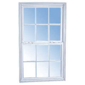 Croft 55W-2/8 x 4/2 Double-Hung Vinyl W/Screen Dl White Low-E 2/8 x 4/2