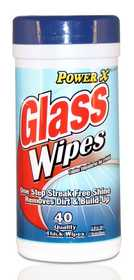 CSI Products Inc CS4703GW Power X All Purpose & Glass Wipes 40ct