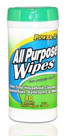 CSI Products Inc CS4703HW Power X Cleaning Household Wipes 40ct