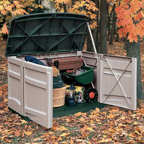 Suncast GS1000 Horizontal Garden Shed 20cu Ft