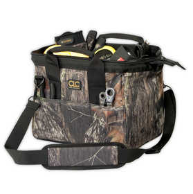 Custom Leathercraft 1161M Bag 12 in Big Mouth Mossy Oak