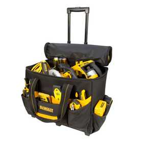 Custom Leathercraft DG5570 DeWalt Roller Tool Bag 17 in