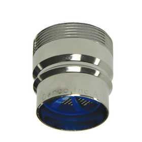 Danco 10507 15/16 in -27M or 55/64 in -27F Large Snap Coupling Dishwasher Aerator Adapter in Chrome
