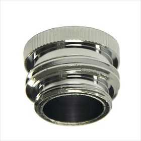 Danco 10509 55/64-Inch -27m /3/4-Inch Ghtm X 55/64-Inch -27f Chrome Garden Hose Aerator Adapter