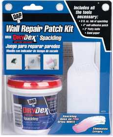 Dap 12345 Drydex Wall Repair Patch Kit